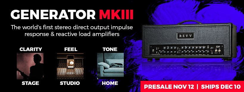 The New REVV Generator MK III: Features, Price & Release Date Details...