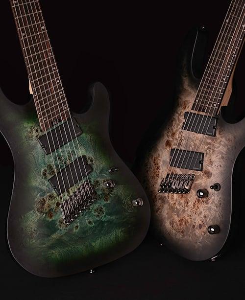 Cort Multi-Scale Guitars: New, Beautiful Models for 2021!